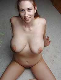 Beauty is kneeling and starting to suck huge cock like candy